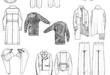 男性服裝繪圖
