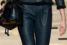 Leather on