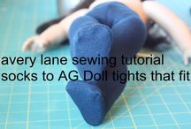 """18"""" Doll Sewing Patterns"""