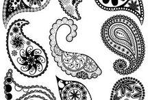 Henna templates