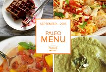 Paleo Freezer Menu September 2015 / by Once A Month Meals