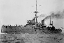 Warships WW I - II