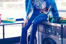Luxe Laundromat Photoshoot