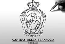 Cantina della Vernaccia - Immagine e comunicazione / Label wine design - Studio e Realizzazione Immagine e Comunicazione (logo, Etichette Vini, immagine coordinata, campagna pubblicitaria, ecc.) Per Cantina della Vernaccia - Oristano (OR) Sardegna - ITALIA