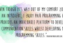 Coding Tips / The Adventurous Coder's Junior Developer Tips