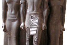 História - sochy egypt