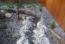 Dry Creek Beds / Scotty's Landscaping & Design specializes in waterfalls and water features which include everything from unexpected dry creek beds to gracious lily ponds.