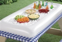 Summer Entertaining / Miles Kimball has patio and grill ideas to fit your budget. We have picnic organizers, tablecovers, food tents, picnic  food umbrellas, and inflatable serving bars.