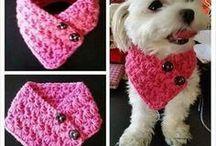 Crochet cão