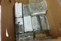 Glass Bathroom Blocks / HOOD'S West Alton is offering a Glass Bathroom Blocks.  Finish off your bathroom needs with these blocks around your shower.  These can also be used for making decorative craft blocks.