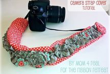 Sew : Camera Strap Covers