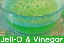 Jello and Vinegar Experiment
