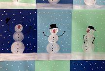Vinter - barnehagen