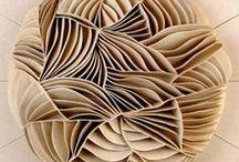 ceramic relief structures / art