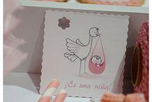 Baby Shower / Me encantan los Baby Shower y están de moda!!!! Entra en www.cucuruchoparty.com para organizar el tuyo!!