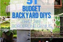 Backyard tips