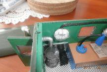 staré modely / opravy a úpravy hraček a modelů
