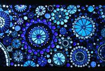 VLC Loves La Passacaglia / Versions of La Passacaglia quilt which I love; inspiration for my version