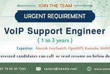 Open Vacancies / This board contains all pins related to Jobs and recruitment in Inextrix.