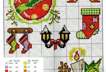 Christmas cross stitch 2016