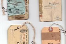 oude etiketten