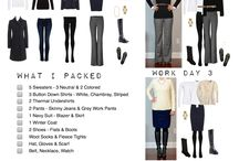 Travel outfits / Travel outfits and packing ideas for travelling.