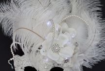 Masquerade masks & Hats