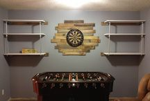 For the men's game room