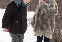 Kids are awesome in fur / fur children fashion