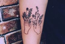 simple + complex graphic tattoos