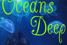 #OceansDeep, a box set of books about the ocean in honor of #WorldOceansDay / Ten young adult authors have put together a collection of young adult romances for a great cause. Because these books all celebrate the ocean, their launching to honor #WorldOceansDay, and all proceeds from sales will benefit TheOceanProject.org, the organization behind #WorldOceansDay.