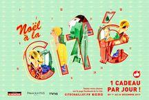 """Jeu-concours """"Noël à la Cité"""" / Du 1er au 24 décembre 2013 sur www.facebook.com/citedelarchitecture"""