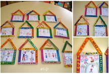 Dia da Família / Family Day / Kids Crafts