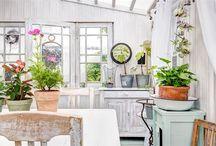 zimní zahrada, terasa