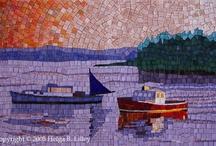 mosaico playa