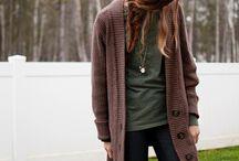 Warm comfort style