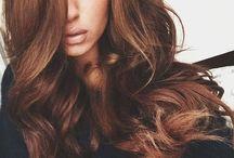 nehty , vlasy