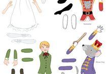 paper dolls/ jumping jack