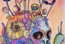 Mardel Rubio - Halloween Coloring Book / Mardel Rubio - Halloween Coloring Book Mardel Rubio - Halloween Színezőkönyv