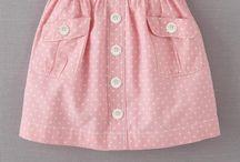 faldas bebé