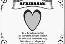 Die taal van my hart - Afrikaans