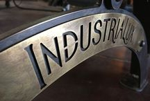 Industrial Elements - Automotive Decor / by Krea