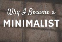 Minimalism / All things minimalist.