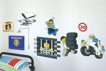 Lego politie kamer