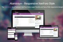 Aluminium / The Aluminium is a Premium XenForo Style built in the Stylium Framework that super flexible.  Get more at: https://brivium.com/resources/aluminium.133/