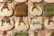 @Cookiesbykayli Fall Cookies