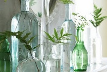 Jars, vases, glassware / by Shelia Arnold