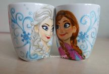 Frozen. Anna and Elsa