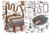 como fazer bolsas