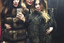 Mates in fur / Beauty is in #fur fashion.. Elegance is for sharing with friends